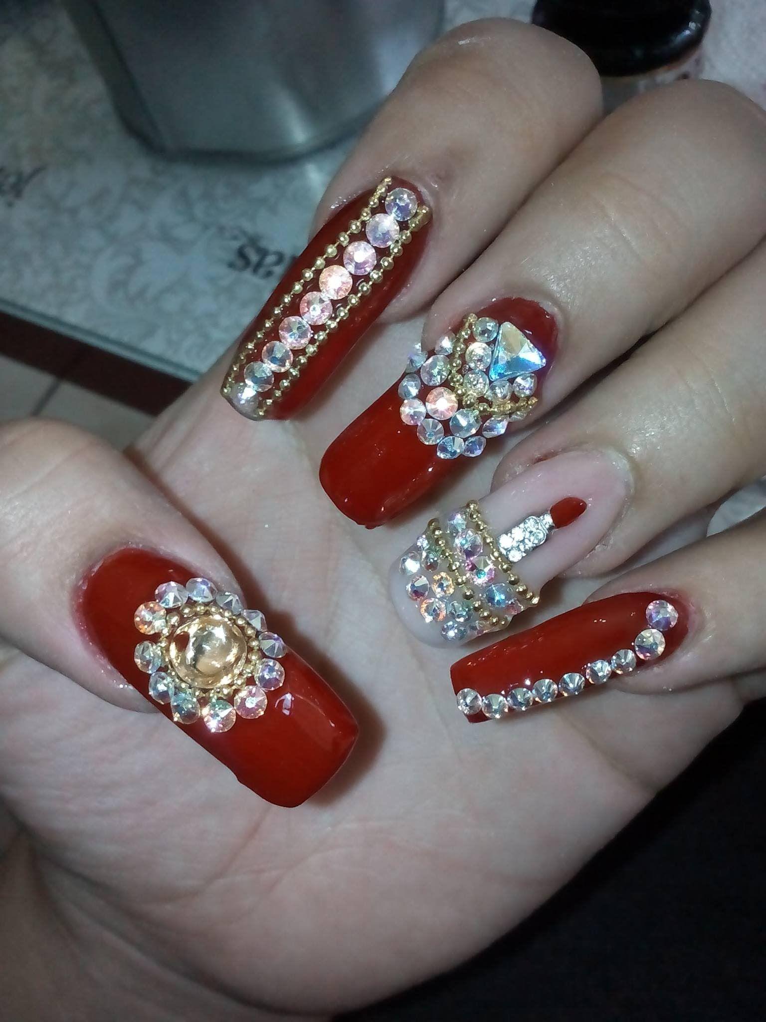 Pin De Yovipili Beauty Center En Nails Unas Unas Decoradas 2017 Y