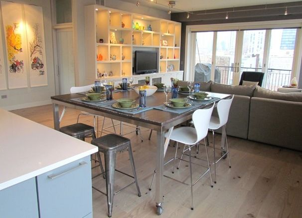 Contemporary Kitchenniemand Interiors  Home Design Entrancing Small Kitchen And Dining Design Inspiration Design
