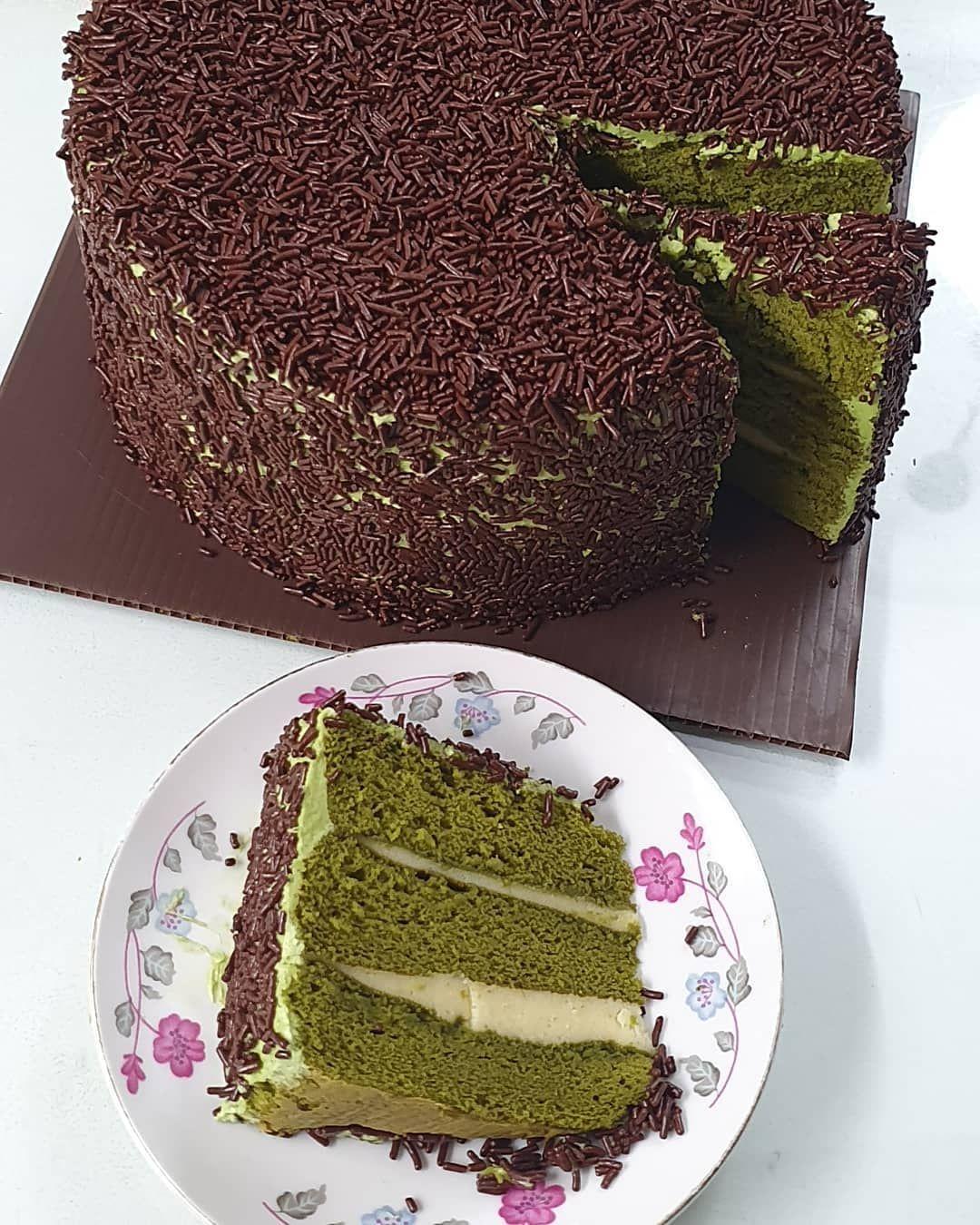 May This Sunday Hold Love Joy Peace And Happiness For You N All These You Love Matcha Green Tea Tart Kemaren Sore Disempatkan B Kue Tart Kue Bolu Kue