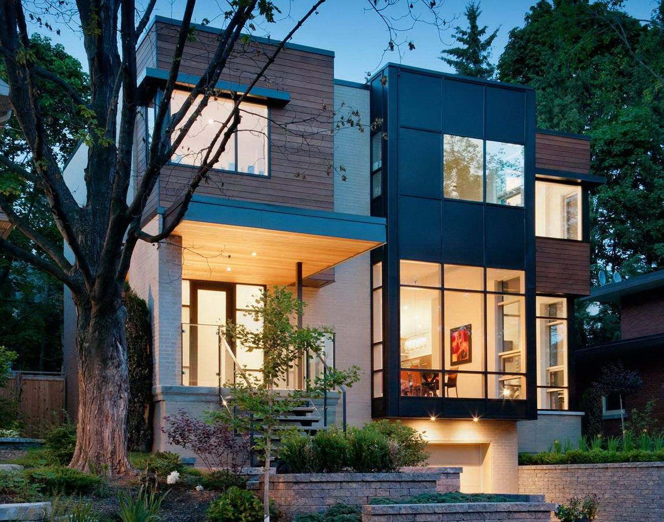 A Two Storey Modern House with a Touch of Minimalism drawhome for