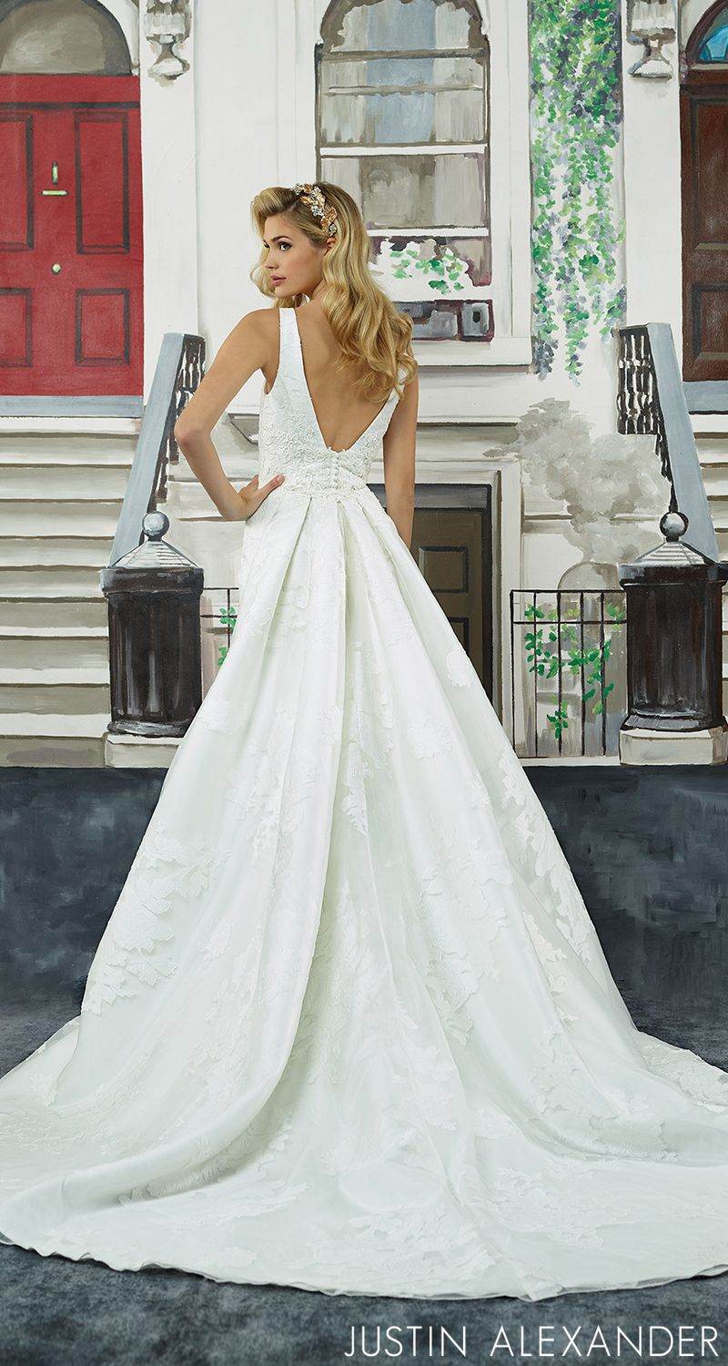Detachable wedding dress straps  Style  Hollywood glamour begins at the neckline of this square