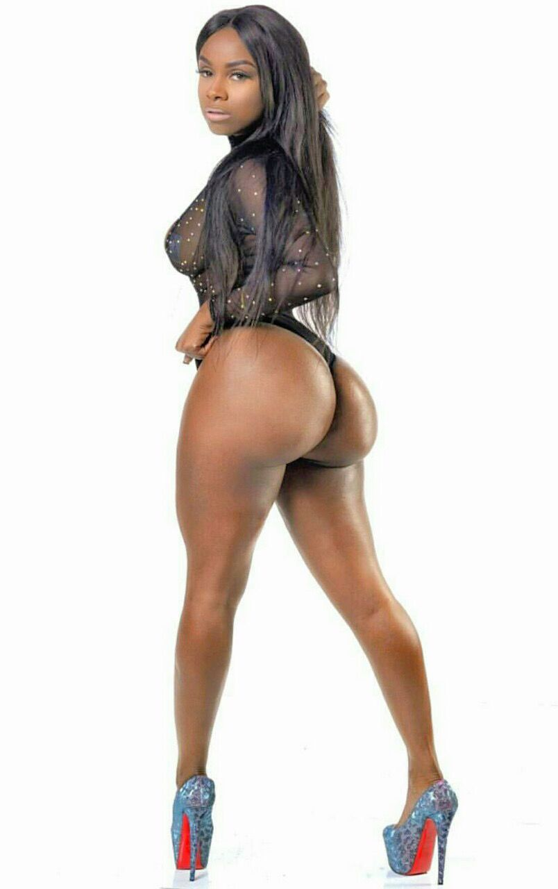 Giant booty ebony