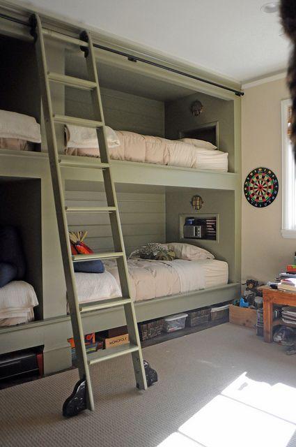 Best Putman Ladders Bunk Rooms Cool Bunk Beds Built In Bunks 400 x 300