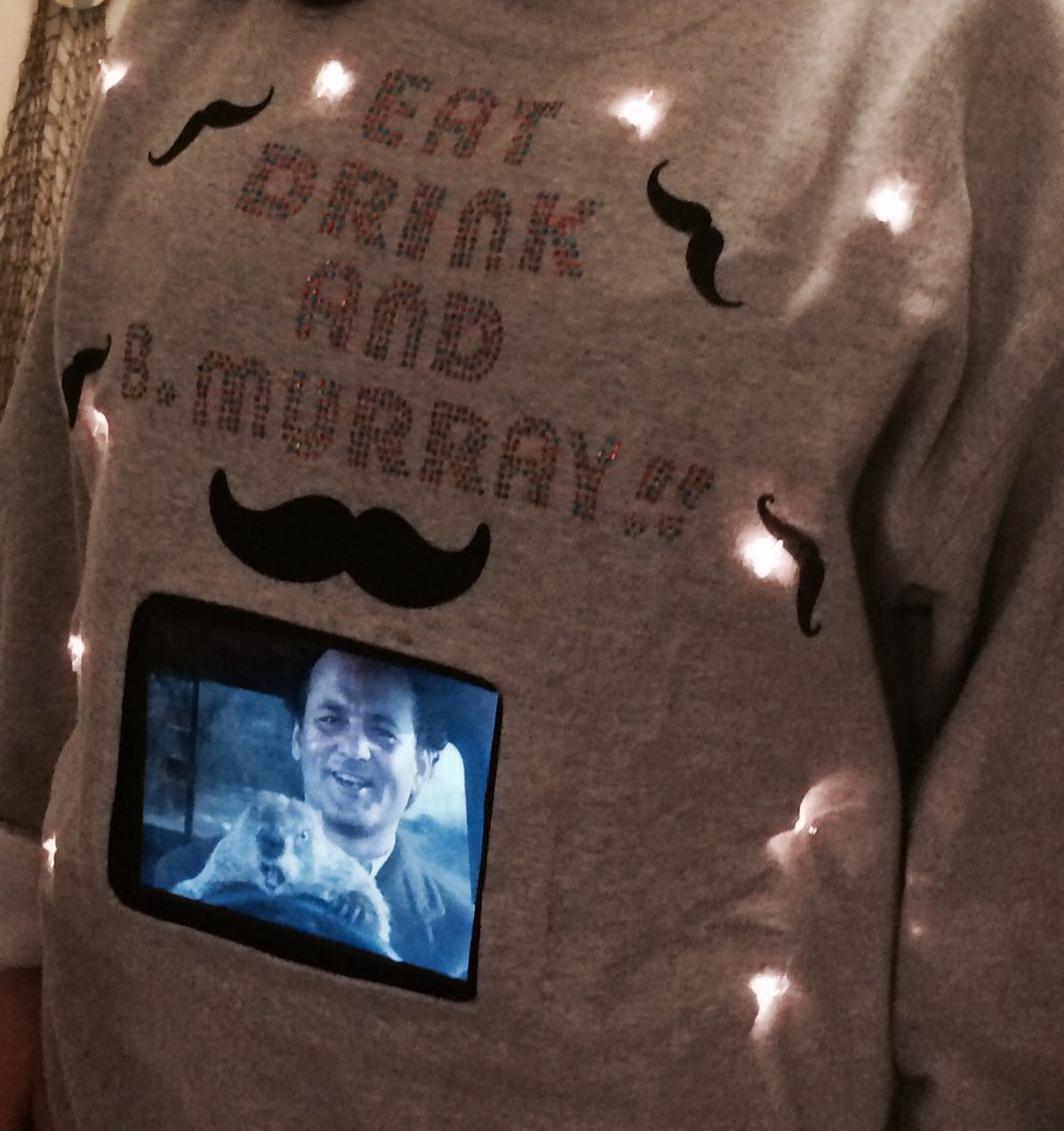 Bill Murray Ugly Christmas Sweater Diy Ugly Xmas Sweater