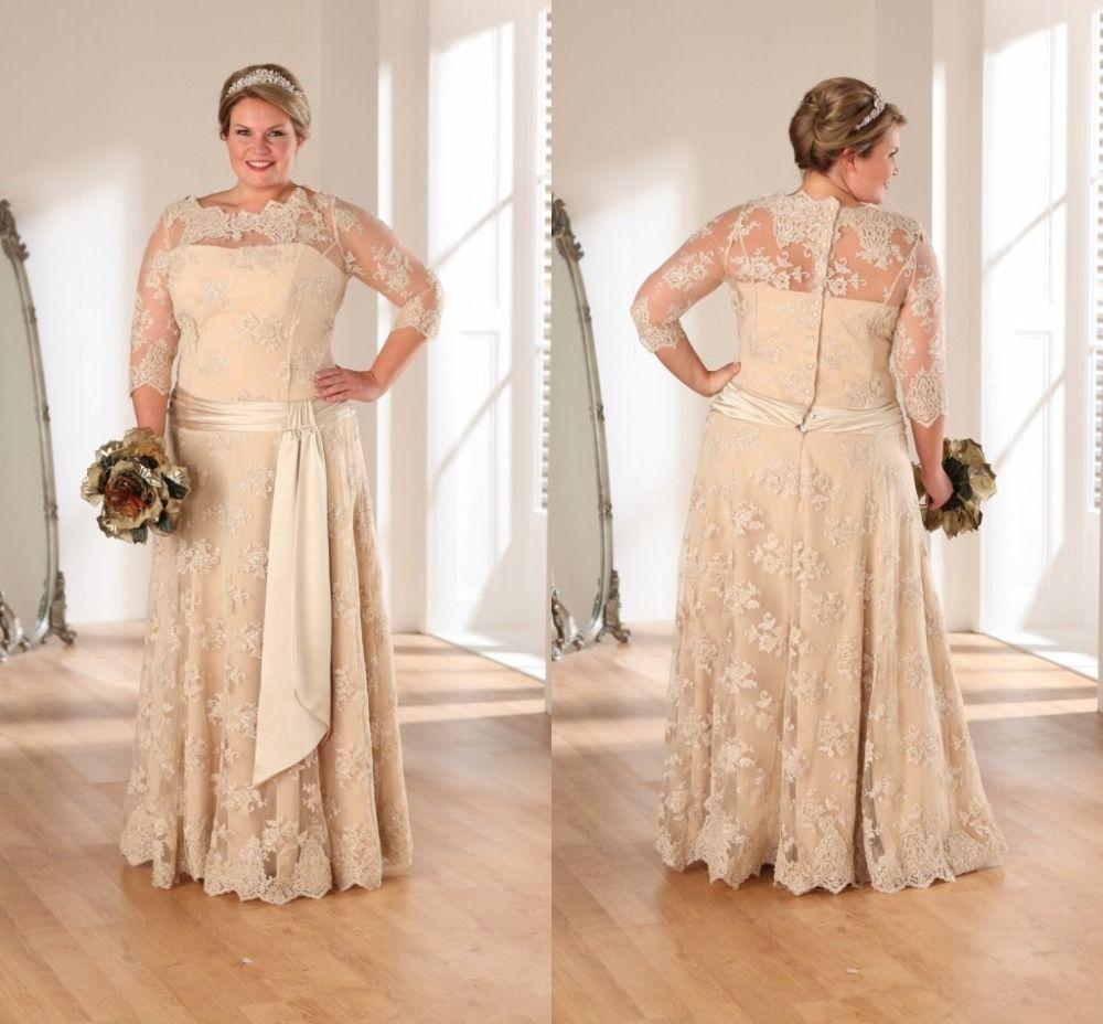 Beautiful Golden Wedding Anniversary Dresses Check More At Http Svesty Com Golden Wedding Anniversar Popular Wedding Dresses Wedding Dresses Lace Bridal Gown [ 928 x 1000 Pixel ]