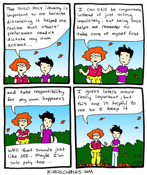 """""""Autonomy is important, but it's not all there is to solo polyamory"""" -full blog post on why this comic misses its mark"""