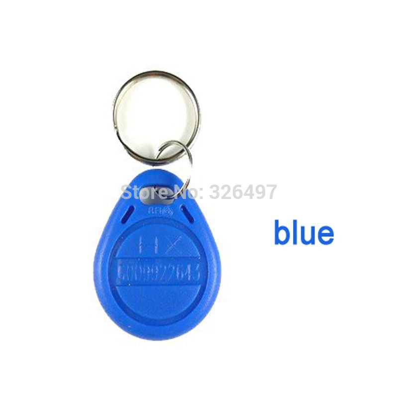Free Samples Cheap Direct 50pcs Bag Rfid Key Fobs 125khz Proximity Abs Key Tags For Access Control With Atmel T5577 Chip Blank Cop Key Tags Rfid Tag Rfid
