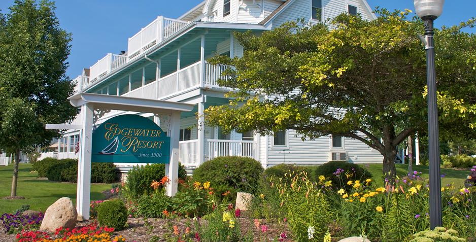 Edgewater Resort Front Building Door County Edgewater Resort Door County Hotels Door County