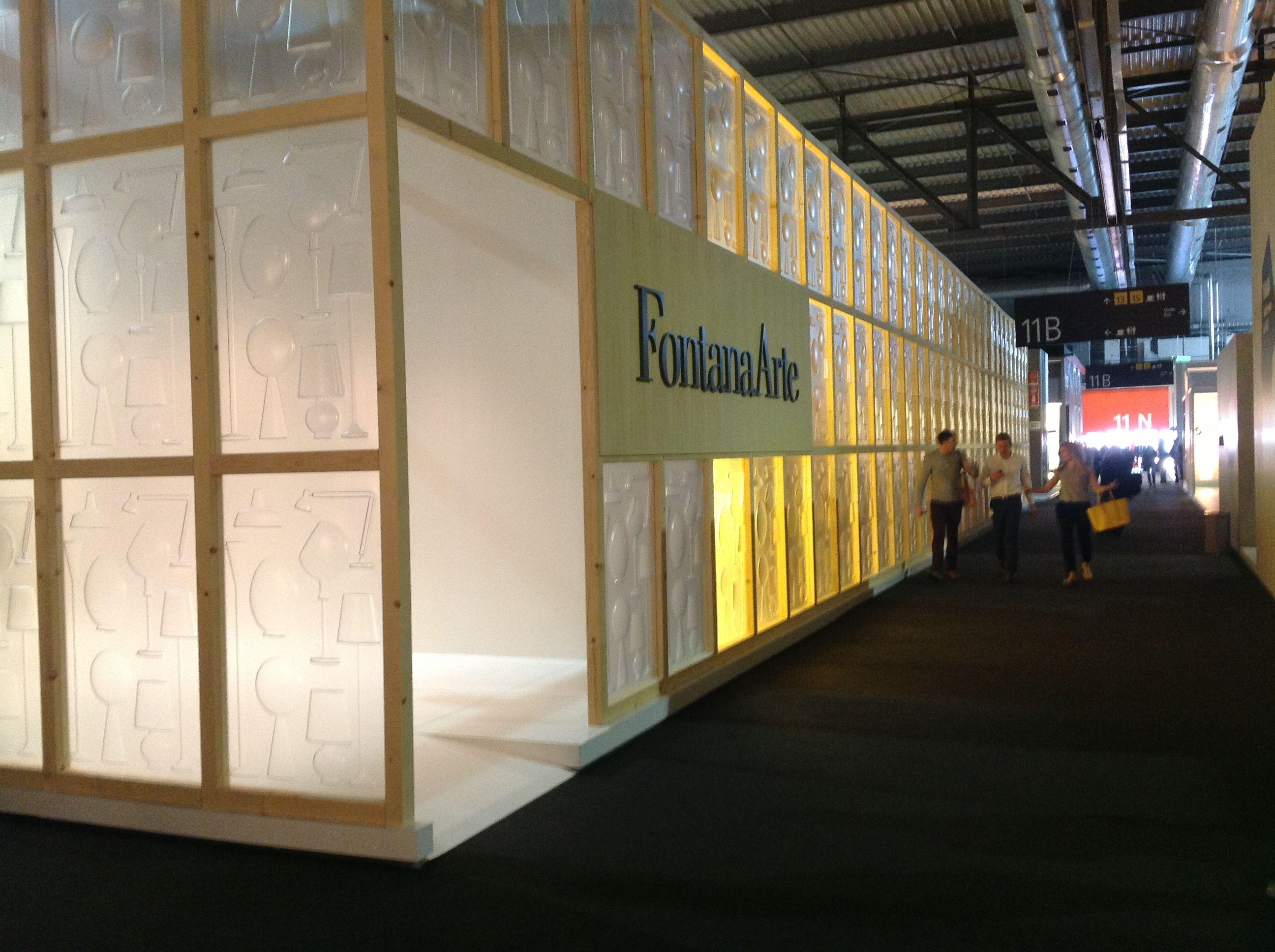 Fontana Arte Milano Design Week 2013 | Event & Exhibition | Pinterest