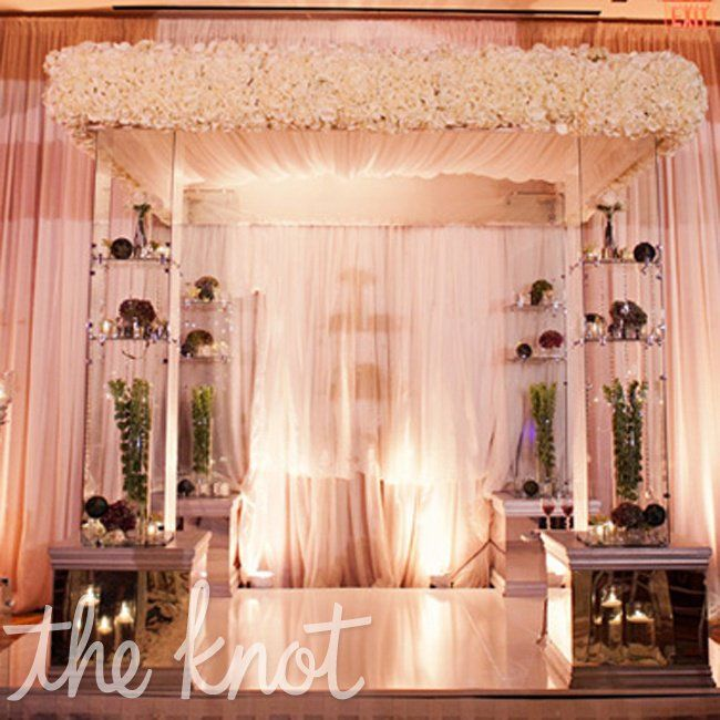 Jewish Wedding Altar Name: Decorated Jewish Ceremony Chuppah