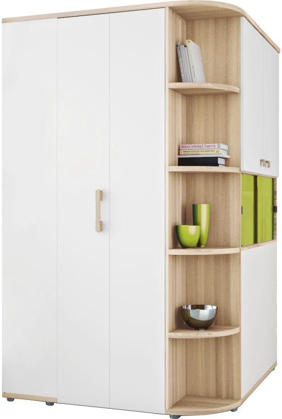 mit dem begehbaren eckschrank cubix von vilano verw hnen sie sich mit besonderem luxus der. Black Bedroom Furniture Sets. Home Design Ideas