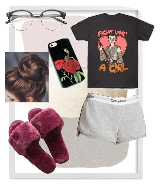 """""""staying in"""" by zaddi on Polyvore featuring Calvin Klein"""