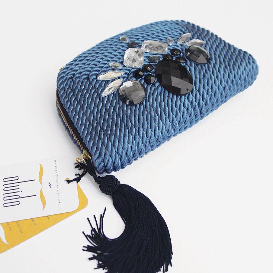 ● Clutch/handbag VALÉRIE by OLVIDO MADRID