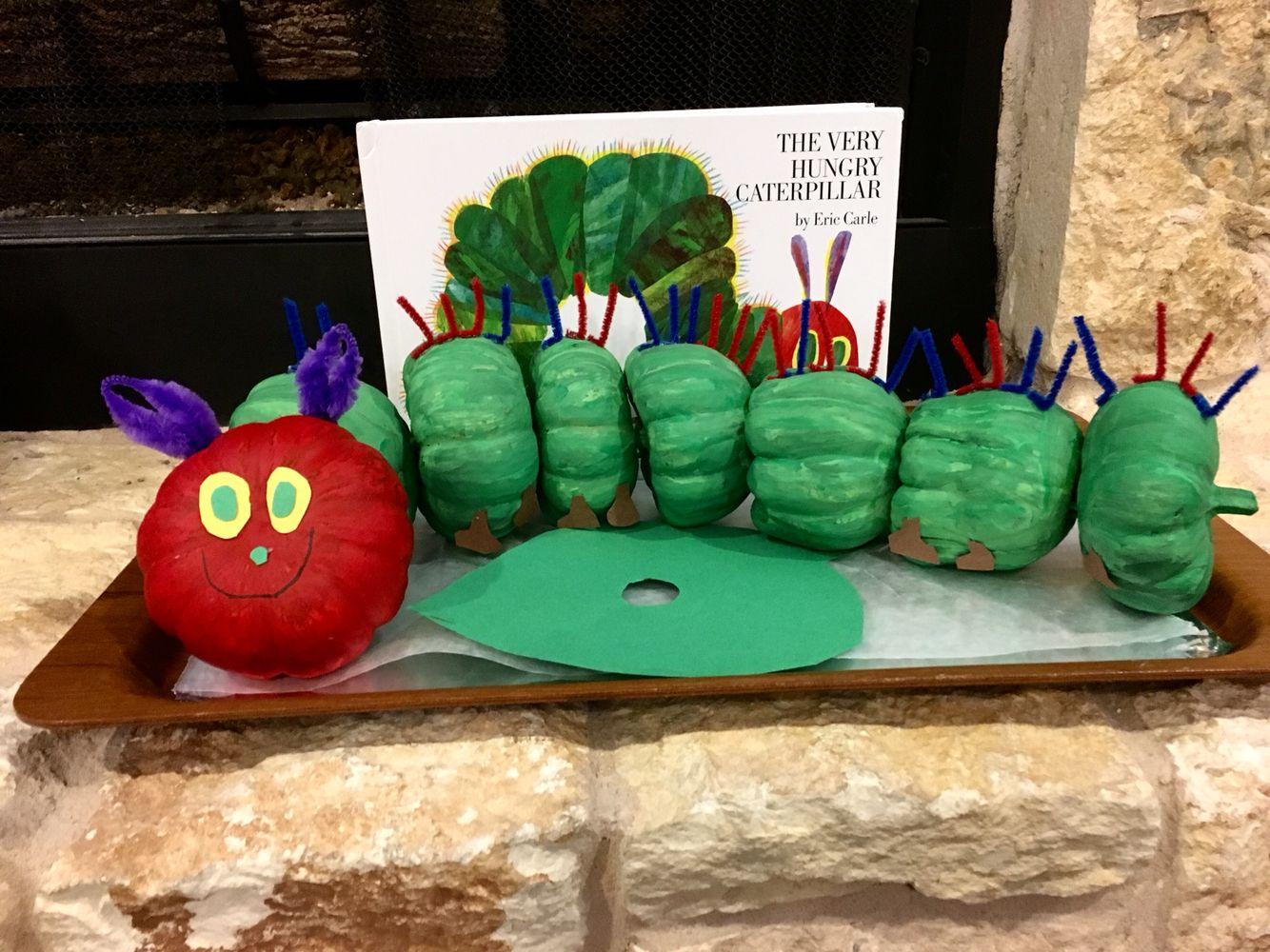 My 5 Year Olds Storybook Pumpkin For Preschool
