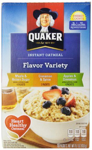 Quaker Instant Oatmeal Packet