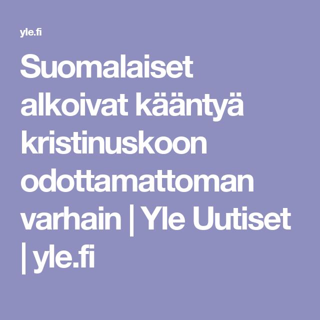 Suomalaiset alkoivat kääntyä kristinuskoon odottamattoman varhain | Yle Uutiset | yle.fi