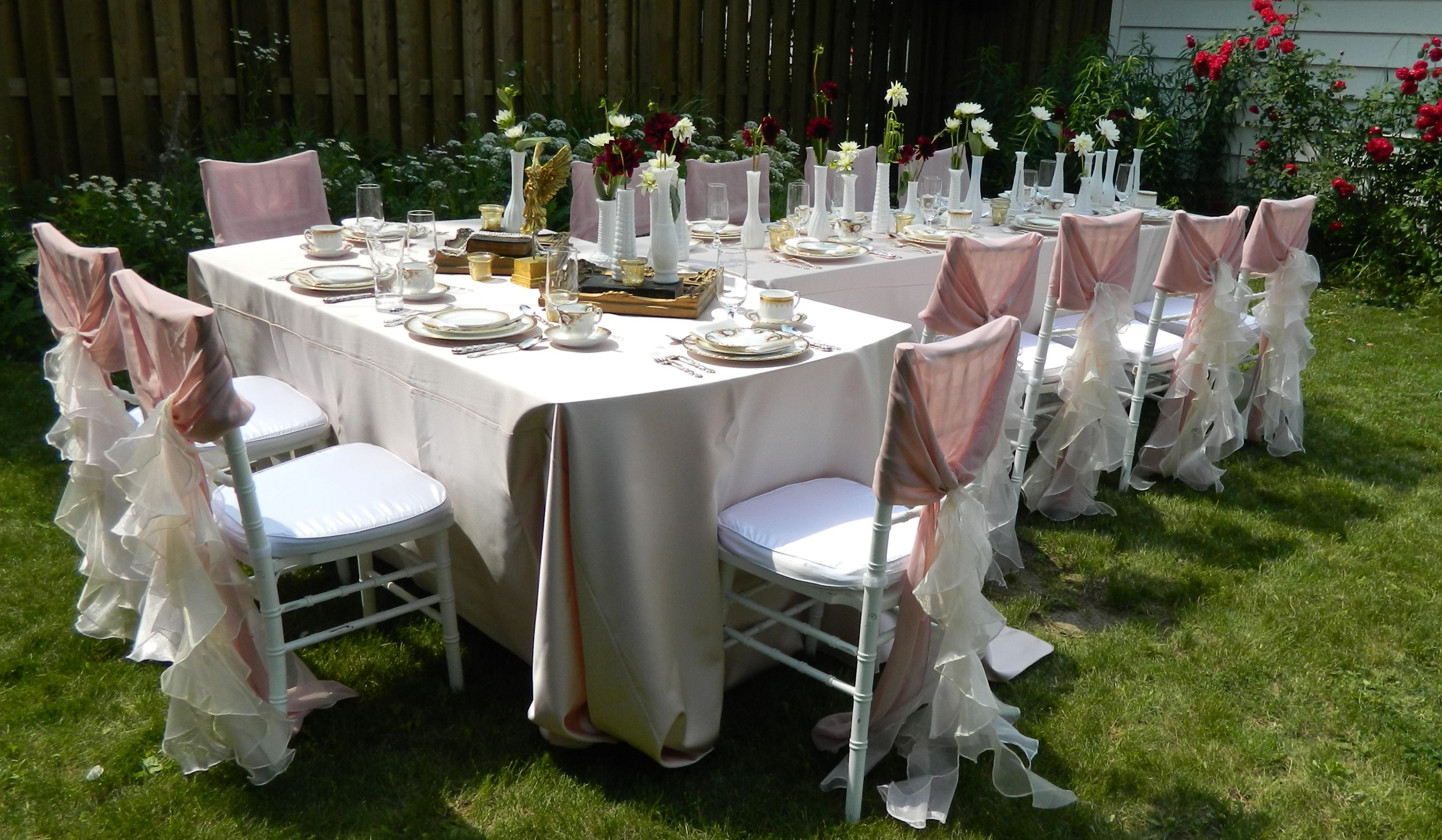Outdoor Christening Party
