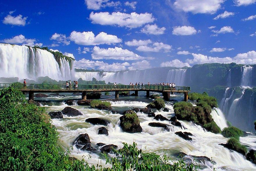 Iguazu Waterfall - Argentina!/Brazil.