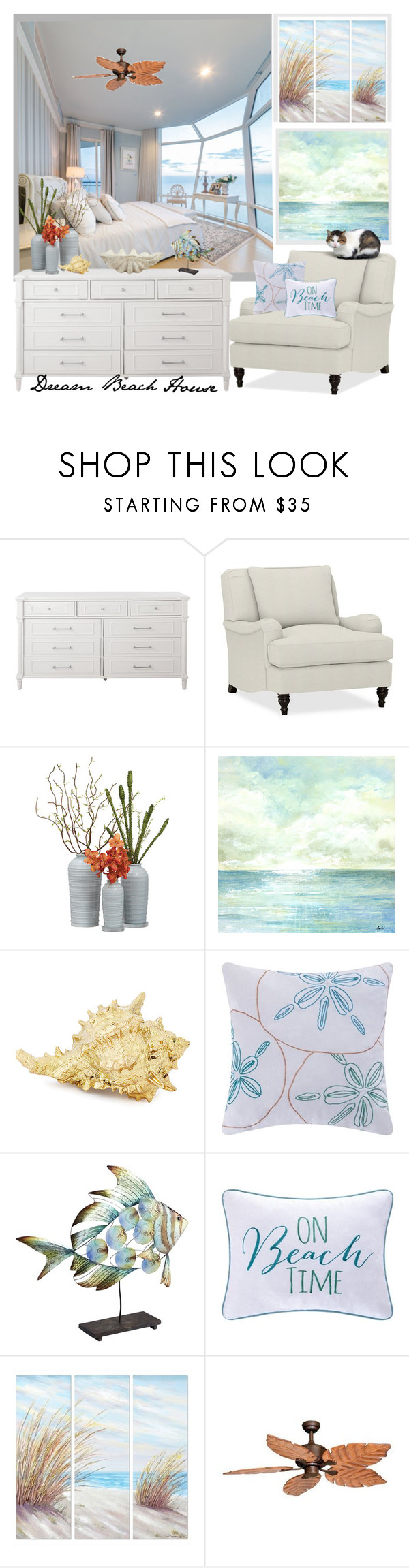 """""""Horizon's Edge ..."""" by krusie ❤ liked on Polyvore featuring interior, interiors, interior design, home, home decor, interior decorating, Home Decorators Collection, Pottery Barn, C & F and Pier 1 Imports"""