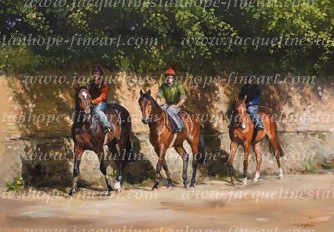 """First Lot, Newmarket"" - The Sporting Gallery"