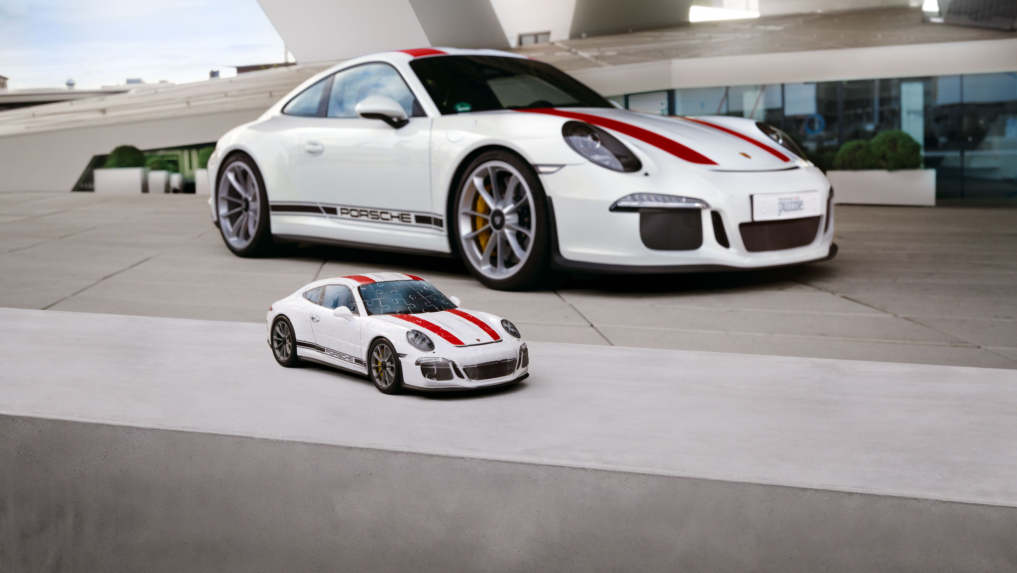 You Can Now Own Your Very Own Porsche 911r In 3d Puzzle Form Top Speed Porsche Latest Cars 3d Puzzles