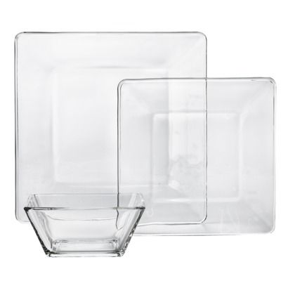other than fiestaware I love plan dishes, clear are a special ...