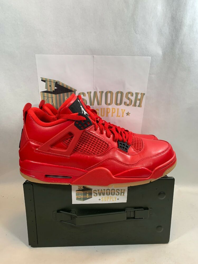 9f7c161d51390 2018 Nike Air Jordan 4 IV Retro Singles Day Red Gum Women s Size 11.5  AV3914-600  Nike  BasketballShoes