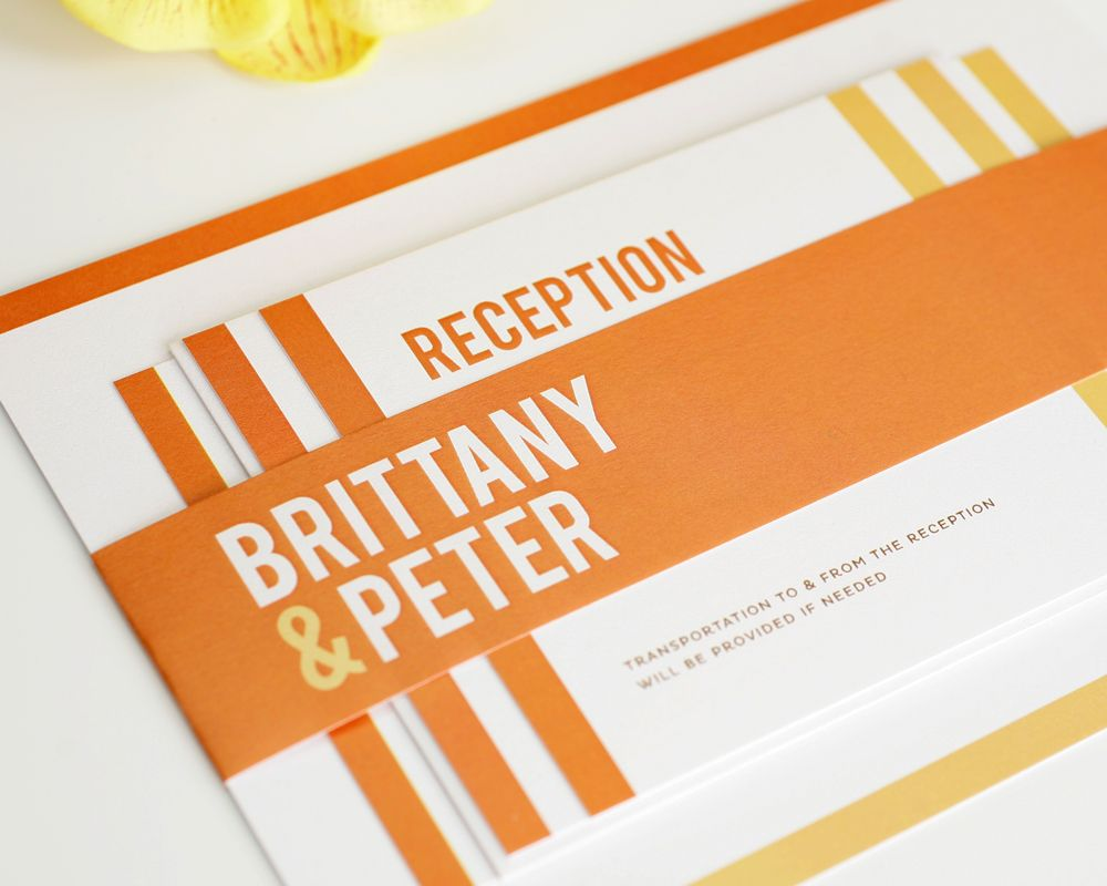 Modern Stack Wedding Invitations | Wedding invitation inspiration ...
