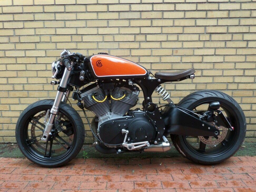 Cafe Racer/Bobber frame kit for Buell XB | ps | Cafe racer