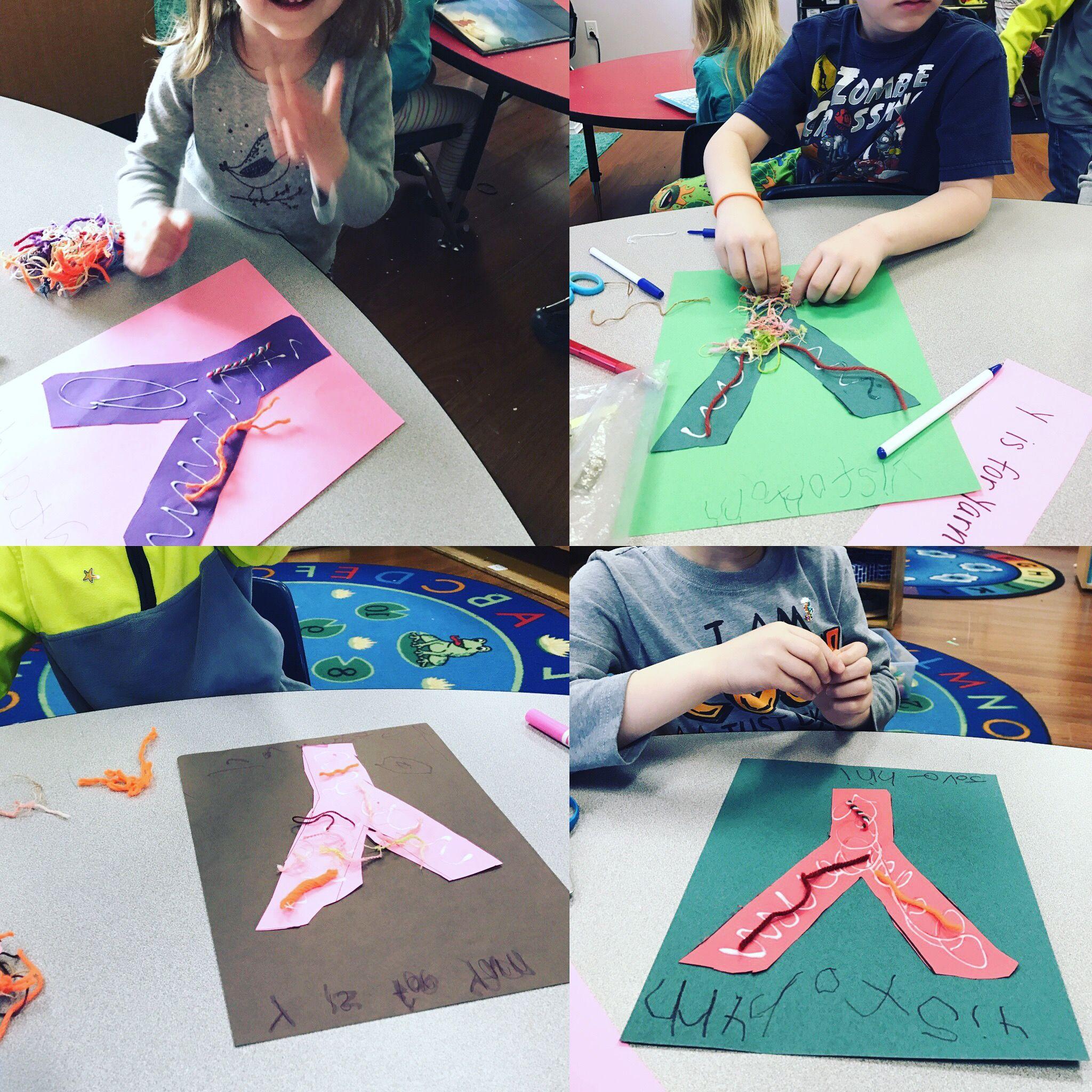 Y Is For Yarn Preschool Letter Of The Week Craft