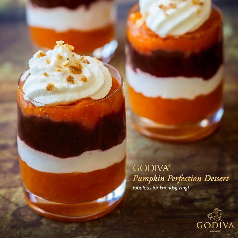 Layer On The Decadence. GODIVA Pumpkin Perfection 1