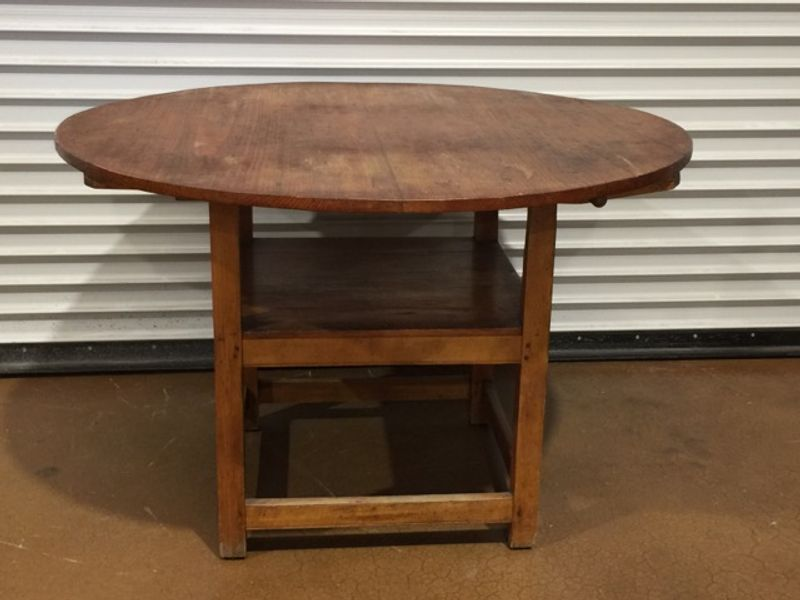 Antique Maple Flip Top Dining Table Chair The Flips Up