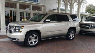2015 Chevy Tahoe 4WD LTZ Ride as Smooth as an Enchanted Mine Train