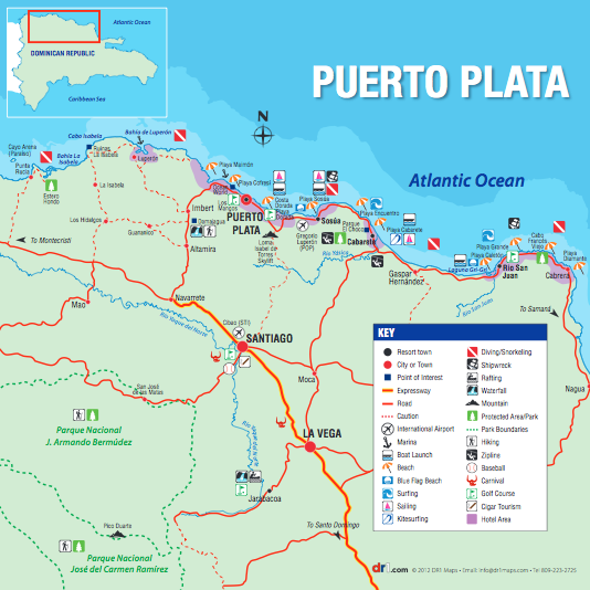 Puerto Plata Map Get 25 dollars off your first airbnb reservation