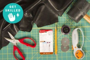 Get Skilled: Working with Leather, Project Ideas + Rad Inspiration!