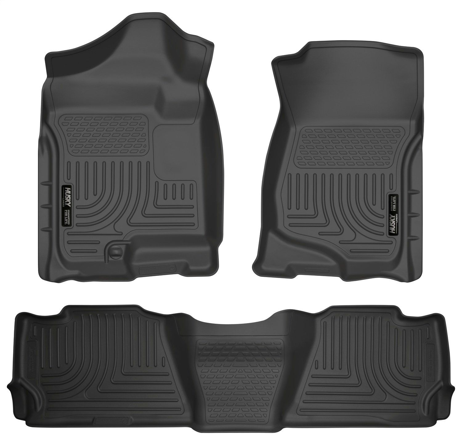 Husky Liners Front And 2nd Seat Floor Liners Fits 07 14 Suburban