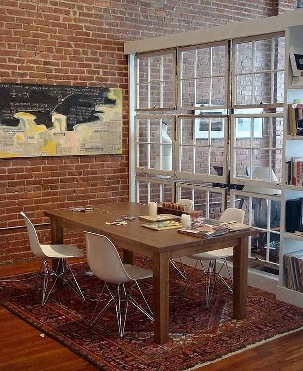 50 einrichtungsideen f r kleine esszimmer esszimmer esstisch mit st hlen perserteppich. Black Bedroom Furniture Sets. Home Design Ideas