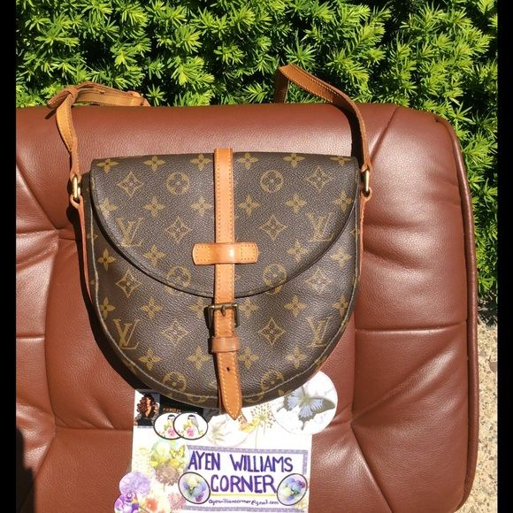 b6093dca4 Authentic Louis Vuitton CHANTILLY MM In good condition Louis Vuitton Bags  Crossbody Bags