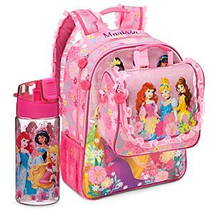 ee59f4fe07b Disney Princess Backpack   Lunch Tote Collection
