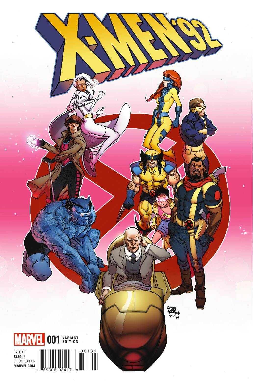 Preview X Men 92 1 All Comic Com X Men Comics Chris Sims