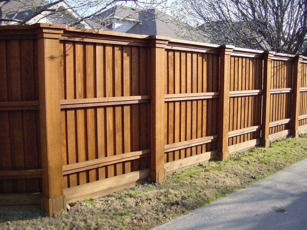 modern cedar fence ideas pictures
