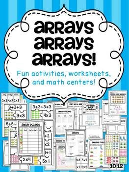 arrays arrays arrays multiplication and division teaching math math classroom math. Black Bedroom Furniture Sets. Home Design Ideas