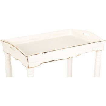 Groovy Antique White Wood Tray Table Home Ideas Wood Tray Home Interior And Landscaping Fragforummapetitesourisinfo