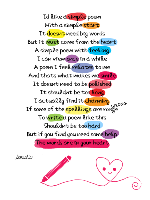 Simple Poems by ~Demachic on deviantART | Once a year | Pinterest ...