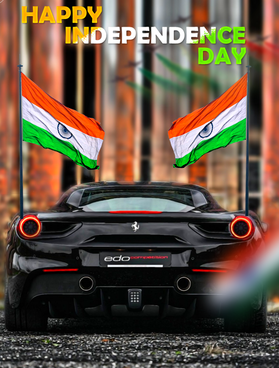 15 August Editing Background Indian Hd Black Car Independence Day Background Background Images For Editing Background Images Hd