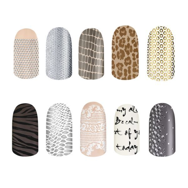 Essie Nail Appliques: I Really Like The Essie Nail Stickers. Understated And