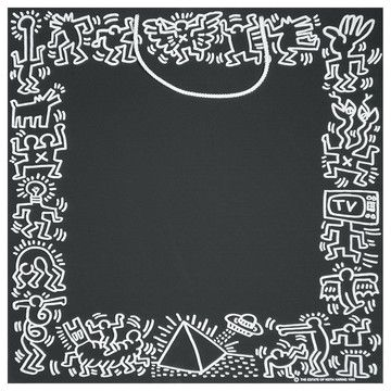Keith Haring Chalkboard, $18, now featured on Fab.