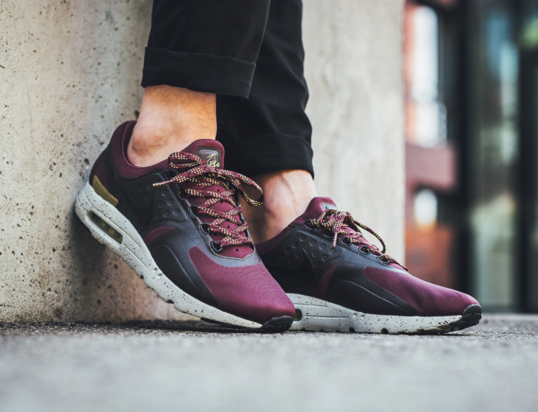 31eafedaa64 Now Available  Nike Air Max Zero Bordeaux
