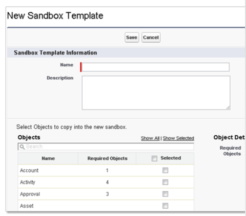 New sandbox template | Salesforce | Pinterest