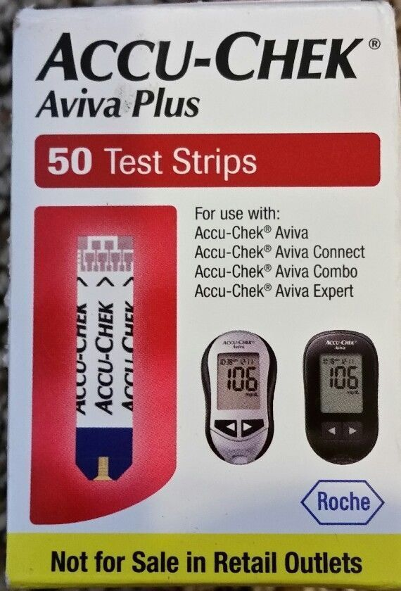 Accu Chek Aviva Plus Diabetic Test Strips 50ct Expires 8 31 2018 Mint Accuchek Accu Chek Aviva Diabetic Test Strips Test